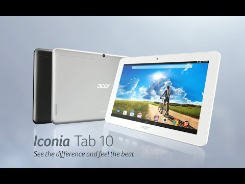 Acer Iconia Tab 10 tablet - See the difference and feel the beat (Features & Highlights)