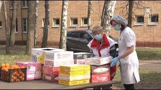 Представители Красного креста и Общественной палаты посетили воскресенских врачей