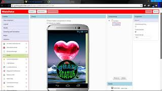 how to make whatsapp status video app in android studio