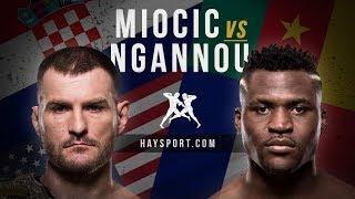 HS: Стипе Миочич - Фрэнсис Нганну  Miocic - Ngannou promo HD сильнейшие люди планеты