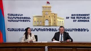 ԱԳ նախարարի տեղակալ Ավետ Ադոնցի մամուլի ասուլիսը հայկական միասնական տեղեկատվական կենտրոնում