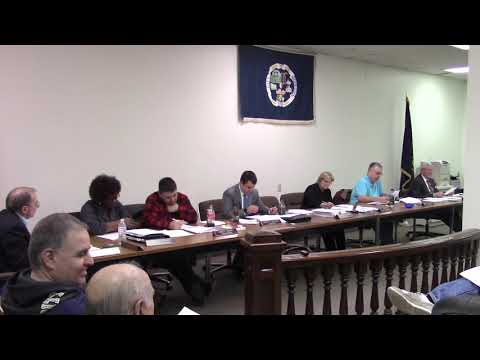 Monessen City Council Meeting 12/27/2018