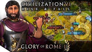 Download Video Ephesus is Burning | Civilization VI: Rise & Fall — Glory of Rome II 8 | Terra Emperor MP3 3GP MP4