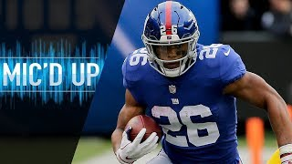 Saquon Barkley Mic'd Up vs. Redskins