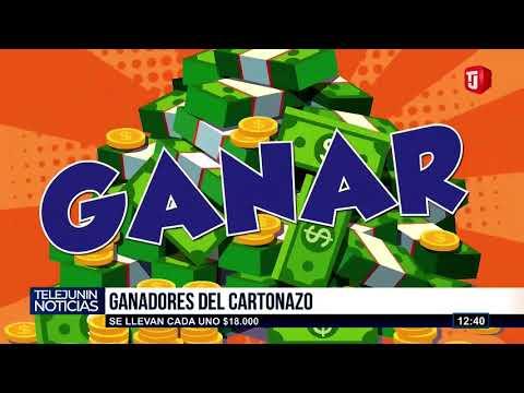 GANADORES DEL CARTONAZO!