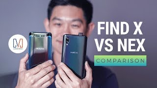 OPPO Find X vs Vivo NEX S Comparison
