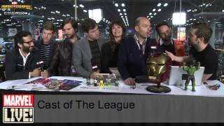The Cast of The League Which Sexy Superheroes They Would Dress Up As at NYCC 2014