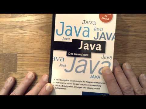Java lernen: Zwei Bücher und eine Lerntafel