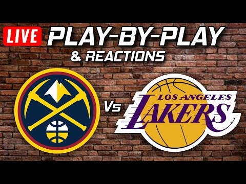 Nuggets vs Lakers Live Play-By-Play & Reactions