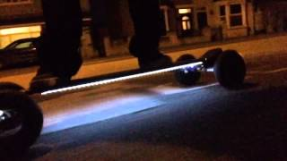 Night Rider feat. Online-LEDs Evolve Electric Skateboards - We Own The Night by Andyzbox