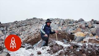 The Last Ice Merchant Harvesting Glaciers
