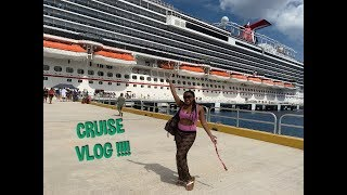 CARNIVAL CRUISE VACATION VLOG