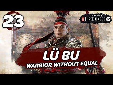 DESPERATE DEFENCE! Total War: Three Kingdoms - Lü Bu - Romance Campaign #23