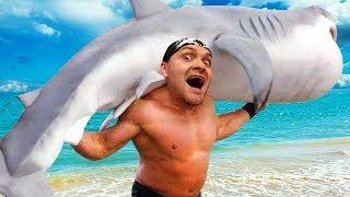 ПОДНИМАТЕЛЬ АКУЛ! МЕГАЛОДОН ЖИВ! ► Shark Lifting 2   ВЗРЫВ МОЗГА