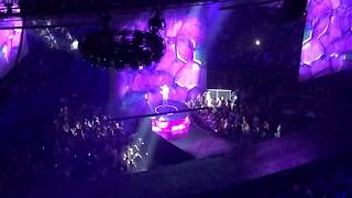 "Carrie Underwood   ""Backsliding""   Staples Center LA 912   Cry Pretty Tour"