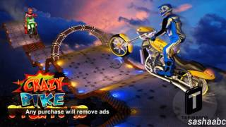 crazy bike stunts 3D game rewiew android//