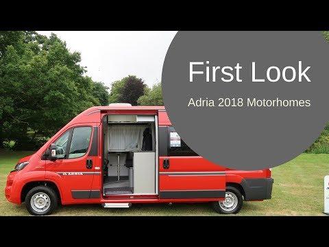 First Look - Adria 2018 Motorhomes