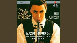 Violin Concerto in E Minor Op. 64: III. Allegretto non troppo - Allegro molto vivace