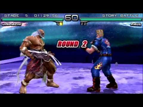 Tekken Dark Resurrection Walkthrough Psp Story Battle As Julia