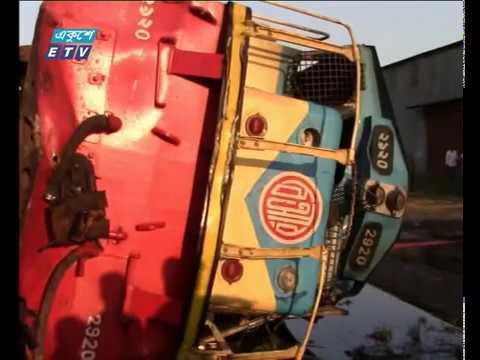 মন্দবাগ রেল ট্রাজেডির দুদিনের মধ্যেই সিরাজগঞ্জে আরেকটি দুর্ঘটনা | ETV News