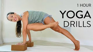 One Hour Yoga Drills– Lift It Up Twist it Out