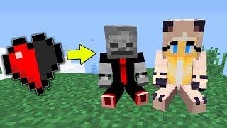 1 Tag ÜBERLEBEN mit einem HALBEN HERZ?!   Minecraft  [Deutsch/HD]