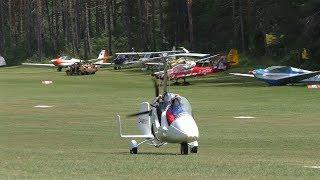 AutoGyro Europe MTOsport takeoff at Airfield Ferlach   D-MRST