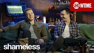 Shameless | BTS : Cameron Monaghan & Noel Fischer Discuss Ian & Mickey's Happy Ever After | Season 11 (VO)