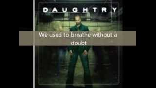 Used To by Daughtry lyrics