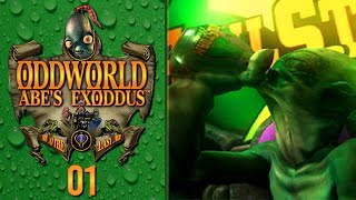 MY FAVE GAME OF ALL TIME ► Oddworld Abe's Exoddus Part 01 by Ace Trainer Liam