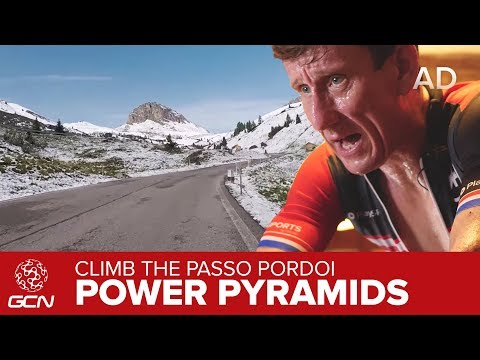 Power Pyramids on the Passo Pordoi | Indoor Training With GCN