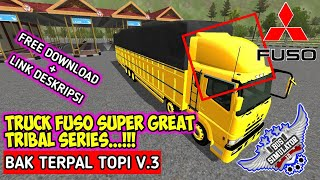 cara download mod bussid truck fuso tribal - TH-Clip