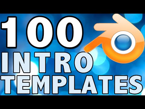 Top 100+ Blender Intro Template | OfficialFunnyCream