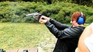 Jean Shooting 357 Magnum at 210fps