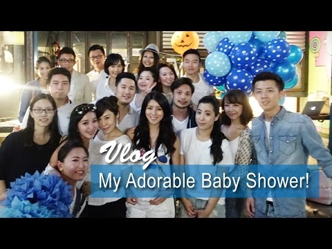 Vlog: My Adorable Baby Shower