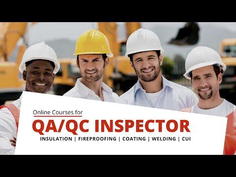 QA/QC Inspector Online Courses - YouTube