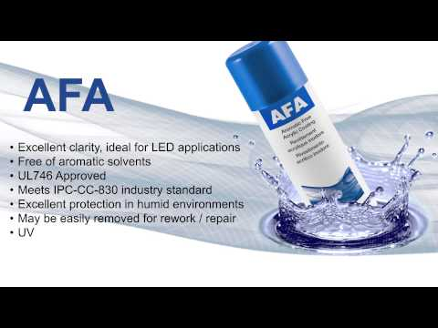 AFA Aromatic Free Acrylic Conformal Coating