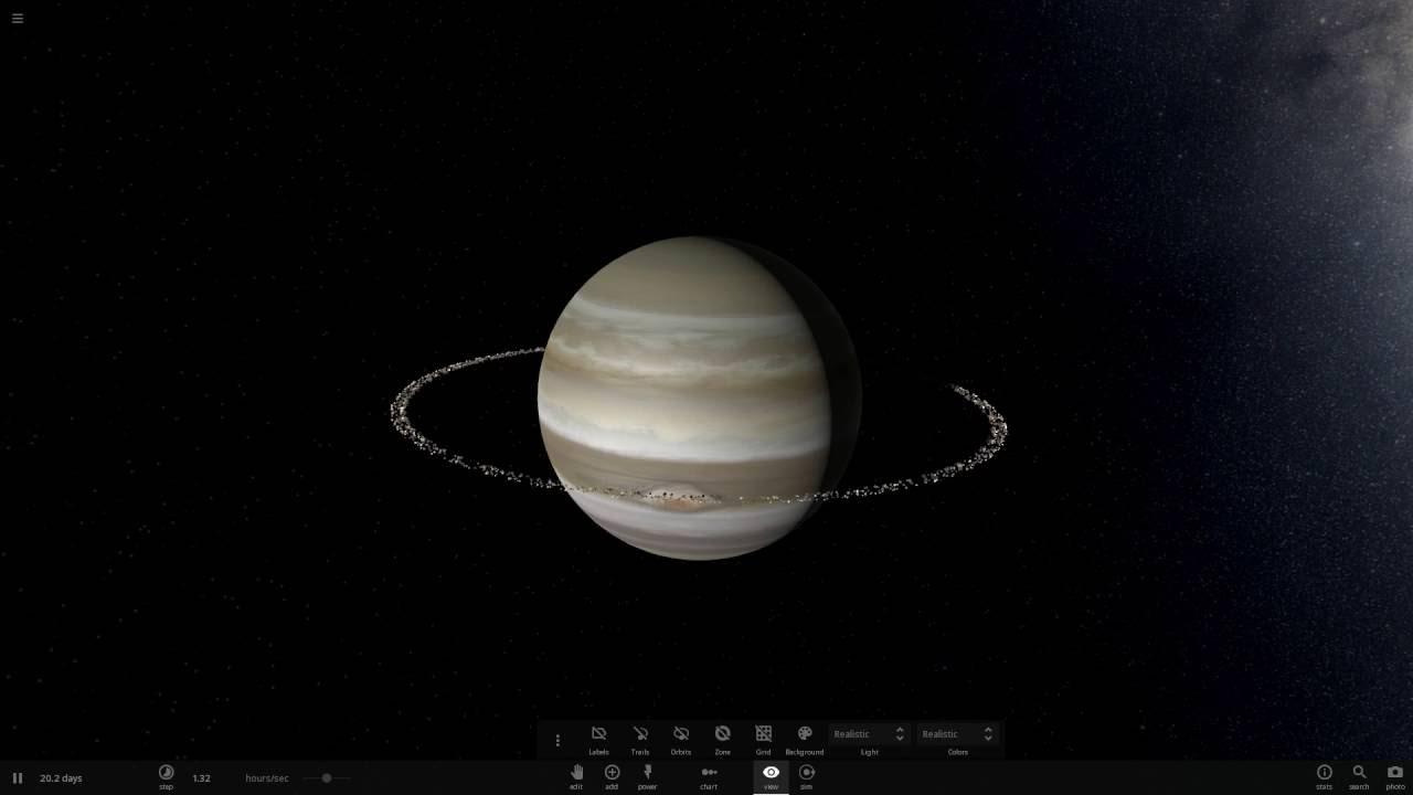 Estrellaformando Júpiter - de Gigante Gaseoso a Enana Roja