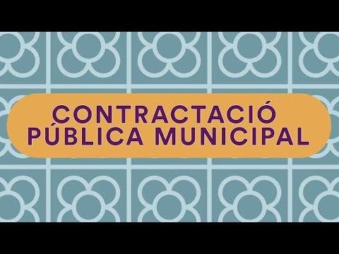 Contractació pública, una eina de transformació socioeconòmica