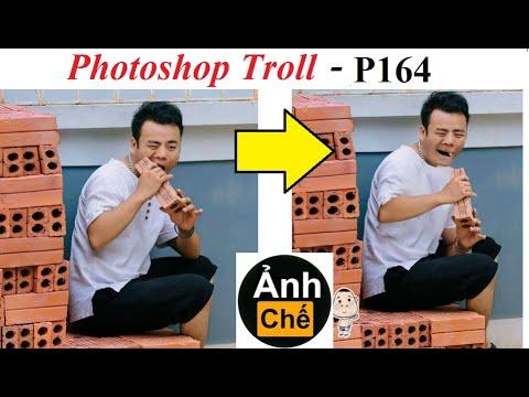 Ảnh Chế  Thử thách ăn gạch 💓 Photoshop Troll (P164 ), James Fridman
