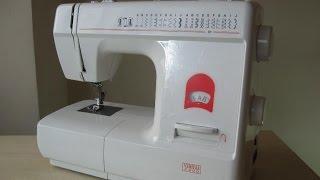 Veritas 2400 Nähmaschine Sewing machine Швейная машина test