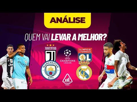 Manchester City x Real Madrid e Juventus x Lyon na Champions League – Lucre com o Trade Esportivo