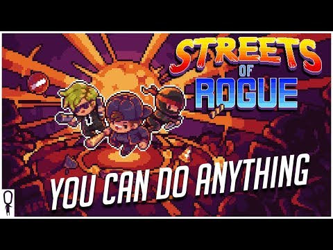"The ""Do Anything"" Rogue-Lite! - Streets of Rogue - Gameplay Preview Impressions"