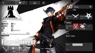 Flamebringer  - (Arknights) - [Arknights] (Test) Flamebringer E1 Level 60 Skill 2 Level 5 on H5-3