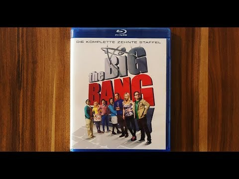 THE BIG BANG THEORY - STAFFEL 10 - Blu-ray Unboxing [UHD]
