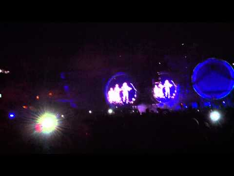 Coldplay - Speed of Sound [Madrid 2012]