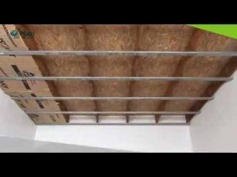 Pose Placo faire un faux plafond avec Placo   BATICOTRAVAUX
