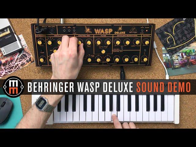 Behringer WASP Deluxe - только звук, ничего лишнего!