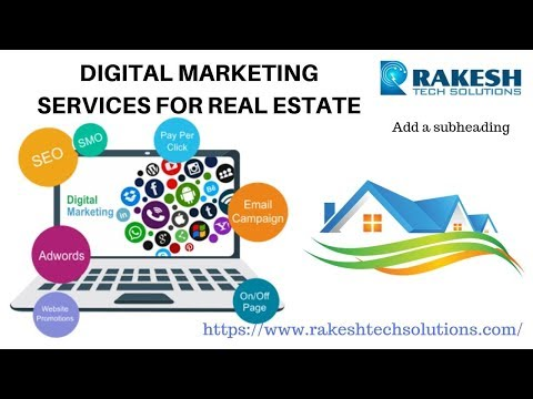 digital marketing services for real estate  Madhapur  Hyderabad