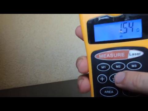 Ультразвуковой дальномер CP 3007. Обзор прибора.